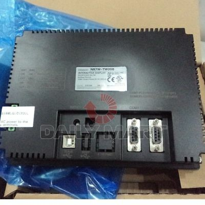 """Omron New Nb7W-Tw00B Hmi 7"""" Color Tft Lcd, 24Vdc, Touch Screen Panel, Free Ship"""
