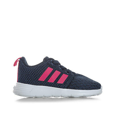 Infant Girls adidas Neo Swifty Trainers In Navy From Get The Label