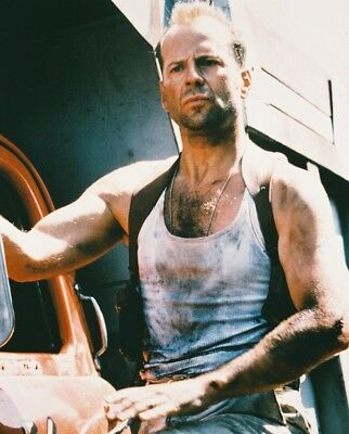 Die Hard With A Vengeance Bruce Willis 8X10 Photograph