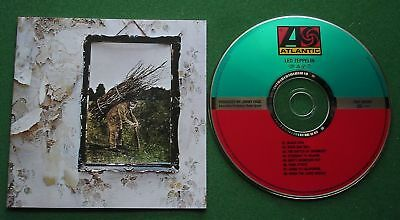 Led Zeppelin IV inc Stairway To Heaven / Rock And Roll + Digitally Remastered CD