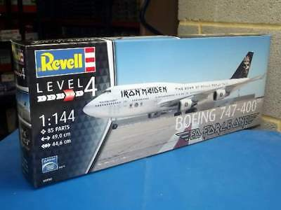 Revell 1/144 Boeing 747-400 Iron Maiden - Ed Force One 04950