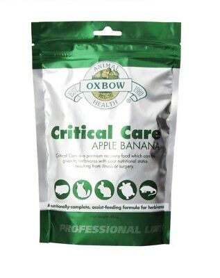 OXBOW - Critical Care Apple/Banana Pet Supplement - 16 oz. (454 g)