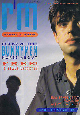 ECHO & THE BUNNYMEN / BILL BRAGG / SIMPLY RED	Record Mirror	Oct	5	1985