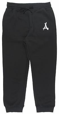 Tha Alumni A Sweatpants Fleece Joggers Casual Athleisure Fashion Youth Boy Black