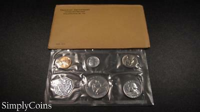 1963 Proof Set ~ Original Envelope With COA ~ US Mint Silver Coin Lot SKU-1095