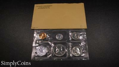 1963 Proof Set ~ Original Envelope With COA ~ US Mint Silver Coin Lot SKU-1096