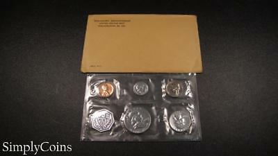 1963 Proof Set ~ Original Envelope With COA ~ US Mint Silver Coin Lot SKU-1093