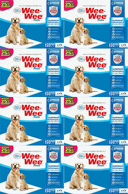 """Four Paws 22"""" x 23"""" Wee Wee Pads, 1200ct (8 x 150ct)"""