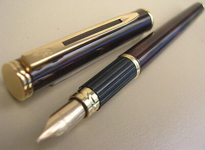 Stylo Waterman Executive De Collection Plume Or 18 K  Annees 1980
