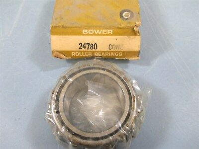 Bower 24780 Tapered Roller Bearing Cone - New