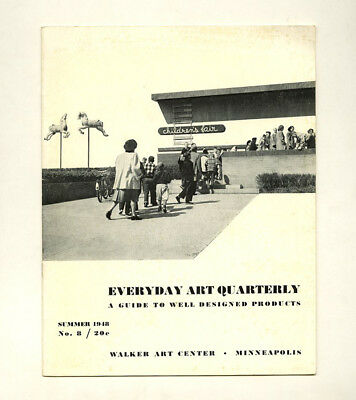 1948 Arthur A. Carrara MAGNET MASTER in EVERYDAY ART QUARTERLY 8 Anne TYNG Toy