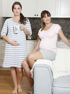 Summer Holiday Nursing Night Dress & Maternity Lounge Set