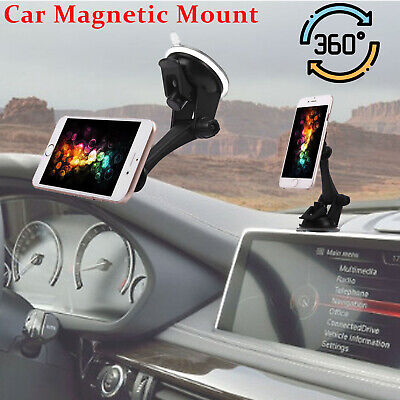 360° Magnetic Car Dashboard Windshield Mount Holder Stand For Cell Phone iPhone