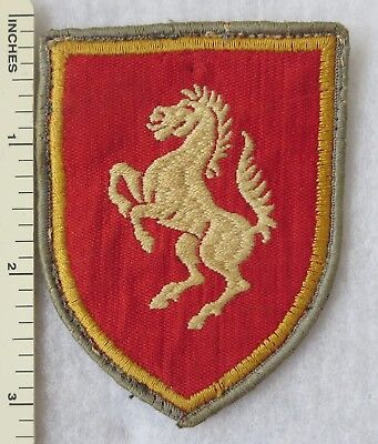 Vintage WEST GERMAN ARMY 7 PANZER DIVISION, 3 BRIGADE BUNDESWEHR PATCH Used