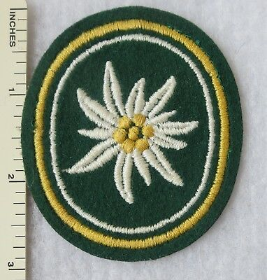 Vintage WEST GERMAN ARMY 24th GEBIRGSJAGER MOUNTAIN BRIGADE BUNDESWEHR PATCH