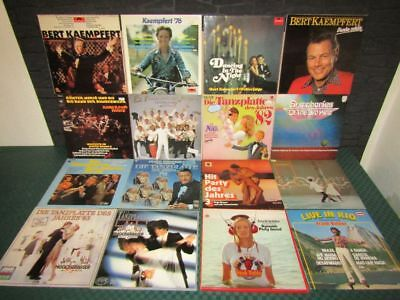 Schallplatten-Sammlung, Vinyl Collection: Tanzorchester, Dance Orchestra 75 LP's