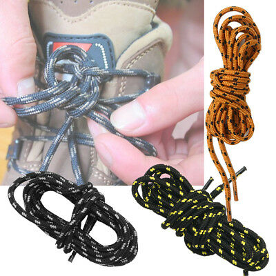 110cm Strong Round Hiking Boot Laces Camping Shoelaces Safety Boots Shoes Laces