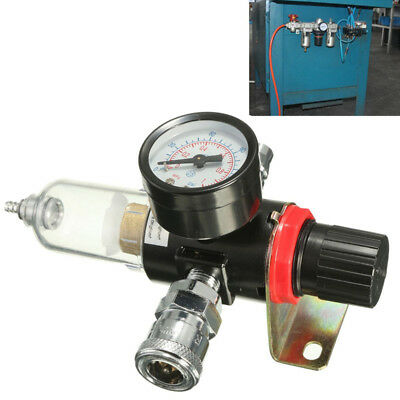 Water Set Moisture Tools Compressor Trap G1 Air Regulator With 1/4in Oil Filter