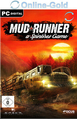 Spintires: MudRunner - PC Online GAME CODE - STEAM Digital Download Key [DE/EU]
