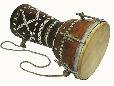 Afghan traditional Folk musical instrument Goblet drum tombak Zerbaghali No:17/C