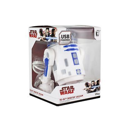 Star Wars R2 D2 Desktop Droid USB Desk Vacuum Cleaner Hoover Novelty Gift