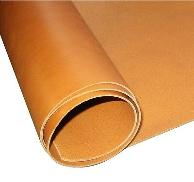 Tooling Craft Leather  Whiskey Tan 3.5Mm Thick Premium Veg Tan Cowhide Shoulder