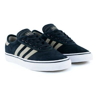 hot sale online db114 953b6 Adidas Skateboarding Adi Ease Premiere Core Black Gold Feather Skate Shoes  NEW