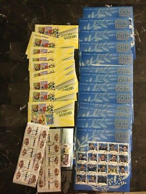 Stunning Lot of Australian CTO Cancelled Stamps Face Value Of $181.45