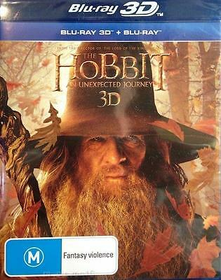 THE HOBBIT An Unexpected Journey : Blu-Ray 3D : NEW