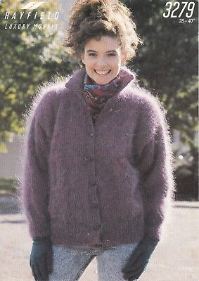 ladies vintage knitting pattern cardigan
