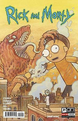 Rick and Morty #19 Variant Howard Starks Cannon Oni Comic Book NM  wh