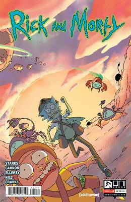 Rick and Morty #18 Regular Starks Cannon Oni Comic Book NM