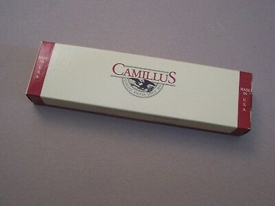 "1 Original Camillus Empty Knife Boxes for fixed blade Knives 10 1/8"" X 2 3/4"""
