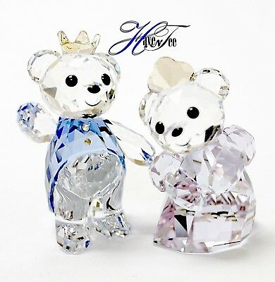 Prince And Princess Kris Bear 2018 Swarovski Crystal 5301569