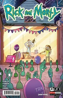 Rick and Morty #14 Variant Ganucheau Fowler Cannon Oni Comic Book NM  wh