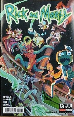 Rick and Morty #12 Variant Rodriguez Fowler Cannon Oni Comic Book NM  wh