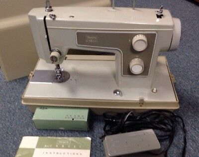 SEARS Kenmore Vintage Mini Portable Electric Sewing Machine Working Magnificent Kenmore Sewing Machine Model 15108