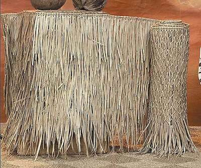 "36""x 20 Mexican Palm Roof Thatch Runner Roll Commercial Grade Thatching"