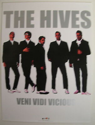 The Hives Veni Vidi Vicious Promo Poster 2002