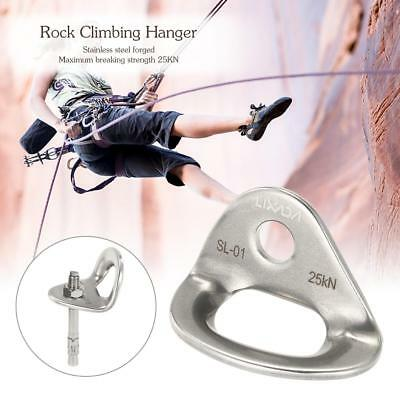 Lixada Outdoor Rock Climbing 25KN Climbing Hanger Anchor Bolt Rescue M2O1