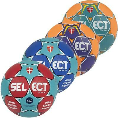 Select Mundo Handball Trainingsball Gr. 0 1 2 3 gute Griffigkeit Naturlatex Ball