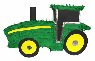 Green Tractor Pinata Birthday Or Party Game/ Decoration