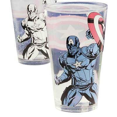 Captain America Glass Captain America stance new Official Marvel Colour Change