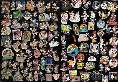 13 DISNEY PIN PINES , WALT DISNEY WORLD, DISNEY LAND elegir: Minnie Mouse