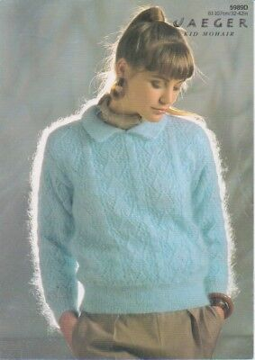 Knitting pattern ladies jumper jaeger