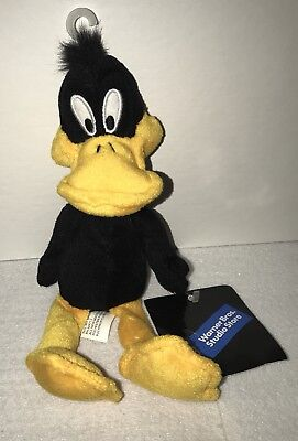 WB Store Looney Tunes Daffy Duck Plush Bean Bag NWT
