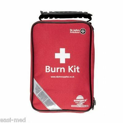 St John Ambulance Burns First Aid Kit Bags Complete