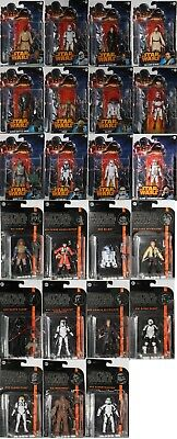 Star Wars Action Figures Hasbro New to Collect Saga Legends, Black Edition