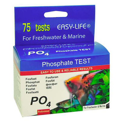 Easy-Life Phosphate PO4 Planted Aquarium Fish Tank 75 Liquid Water Test Kits