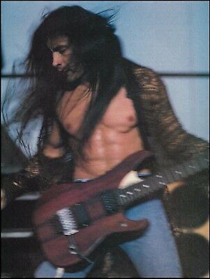 Extreme Nuno Bettencourt live onstage with Washburn guitar 8 x 11 pin-up photo